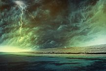 Lightning storms / Over the water / by Janet Riedel