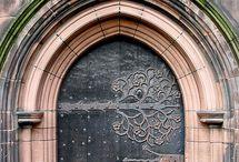 ゴシック様式 ドア