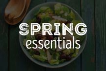 Spring Essentials / Shake off the bitter winter cold with some refreshing dishes. Enjoy the fresh tastes of spring with salads, seafood, light dishes and more! / by Schwan's Home Service