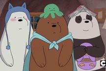 Ursos sem curso / We bare bears // escandalosos