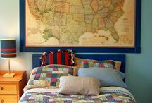Boy's bedroom ideas / by Claire Kempson