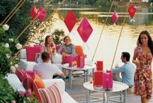 outdoor party / To enjoy the outdoor in style