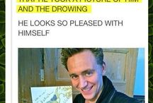 Loki / Loki or Tom Hiddlestone being himself and just being adorable. This is a fangirl board.