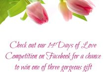 14 Days of Love Contest / We're inviting our community to share photos of the people who are special to them for a chance to win one of three gorgeous gift baskets! Check the FB page for details, contest ends February 14th!
