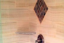 Miles & Wanda's Master Bathroom / This master bathroom is the perfect escape - a resort in your own home!