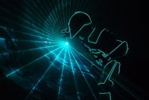 Special laser projects / Interesting projects using laser light or laser projectors.