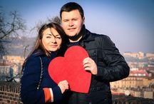 """Романтическая фотосессия """"Love story"""" в Праге на Вышеграде. / Романтическая фотосессия """"Love story"""" в Праге на Вышеграде. В чудесное зимнее субботнее утро, я встретилась с красивой и влюбленной молодой парой, с которой вместе мы провели эту прекрасную фотосъемку."""