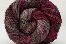 SnailYarn / My own hand dyed yarn