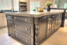 Kitchen Islands / Dream Kitchens, Located in Nashua New Hampshire, Winner of over 200 awards!  / by Dream Kitchens-Kitchen and Bathroom remodeling