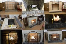 Decorative fireplaces, chimeneas decorativas, камины декоративные / Домашние камины