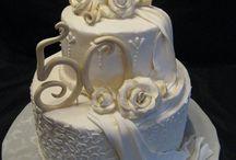 gâteau noces d'or