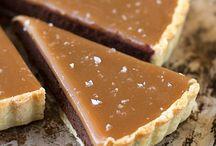 Gâteau au chocolat et caramel