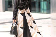 gamis style hijab