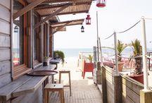 Une maison de plage en guise de cuisine côté mer.