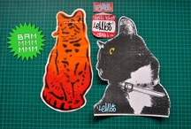 Prints and stickers / Product designs, stickers, prints and other drawn products.