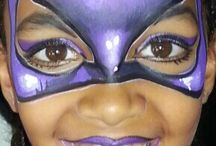 super hero facepainting