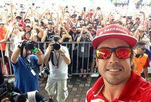 F1 selfie
