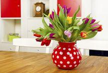 Home decor: primavera / Eu vejo flores em você!   Dicas para deixar sua casa com a cara desta estação cheia de cores e encanto!