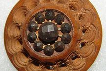 Wood button