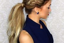 Messy Ponytail Hairstyles