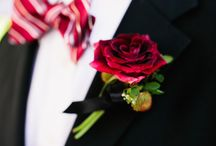 Wedding Inspiration | Buttonholes / Floral accessories for the special men in your life. From your groom to your dad and all the men in between.