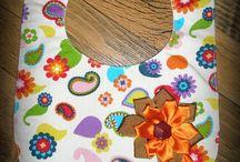 New Handmade for baby / New Handmade kids' bib. Linen, cotton for baby boy, baby girl. Unisex