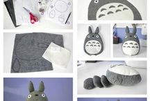 TOTORO and another Studio Ghibli Character
