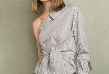Camisas deconstruidas / Aprovecha las rebajas para invertir en tendencias que no se van, como la camisa deconstruida http://chezagnes.blogspot.com/2017/02/deconstruyendo-tu-camisa.html #fashion #moda #camisa #camisadeconstruida #deconstructedshirt #ChezAgnes