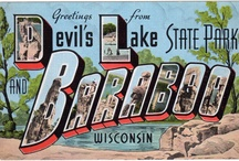 Devil's Lake bric-a-brac / From my collection of old Devil's Lake & Baraboo area Post Cards & Stuff..