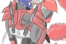 Optimus x Rtchet