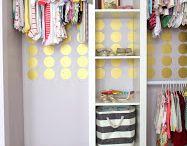 Closet Inspiration / Closet Layout and Design. Closet Organization.
