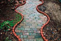 Caminhos de jardim