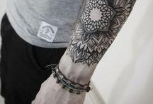 Mandala tatto / Mandala tattoo for men