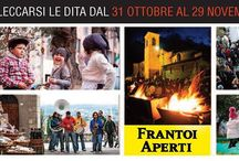 Frantoi Aperti 2015 in Umbria / un grande evento che dura 5 fine settimana (31 ottobre 29 Novembre) per festeggiare l'Olio nuovo in Umbria