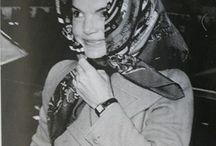 Vintage headscarf looks
