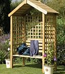 Garden Sheds and Summerhouses / View our range of Forest Garden and Larchlap sheds, summerhouses and gazebos. We have also repined images from other boards.
