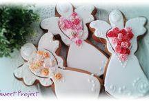 Angel / Pierniki ręcznie dekorowane... FB / Sweet Project