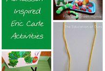 Homeschool, books with activities