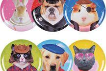 Les animaux dans la déco / Qui n'aime pas les animaux ? Retrouvez tous vos animaux préférés dans des objets déco.