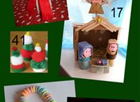 Christmas crafts children / by thepursuitofhomeliness