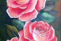 rosas flores y orquideas