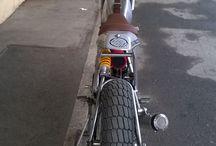 HBM flat track motorbike