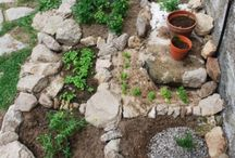 Creatief in de tuin.