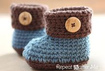 baby knit and crochet