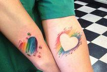 Rainbow Tatoos