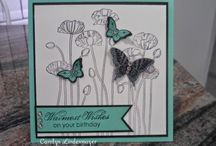 Stampin Up! - Pleasant poppies / Jaarcatalogus /Annual catalogue 2014-2015