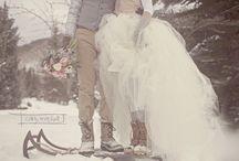 zimní svatba/winter wedding