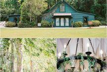 Magnolia Plantation Weddings / Charleston weddings at Magnolia Plantation at the Carriage House and Long White Bridge.