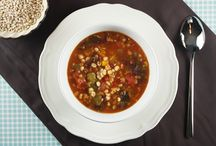 A Big Bowl of Comfort / Soups and other hearty meals in a bowl / by Row Row