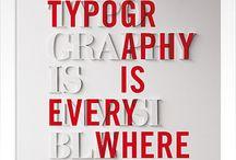 typography / design of type